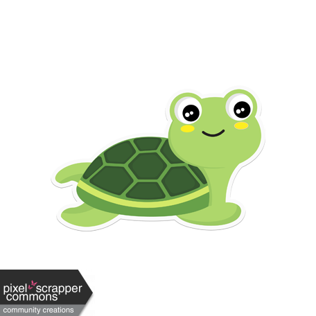 Retro Camper Kit Add-On: Turtle Sticker