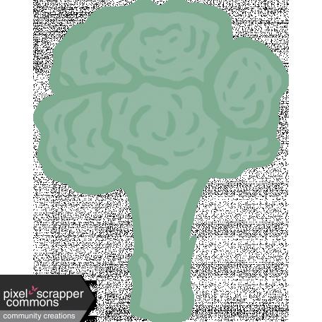 Broccoli Illustration Graphic By Robin Sampson Pixel