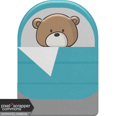 Kumbaya Mini Kit Bear in Sleeping Bag