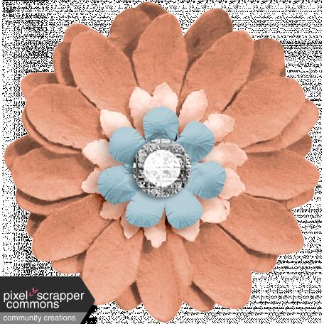Around the World Mini Kit Fabric Flower
