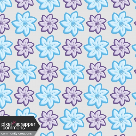 Flowered paper 1 graphic by rose fischer pixel scrapper digital flowered paper 1 mightylinksfo