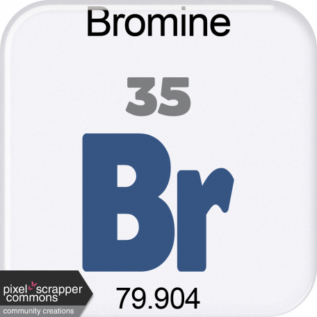 Genius Periodic Table 35 Bromine Graphic By Marcela Cocco