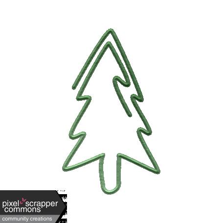 Tree paper clip