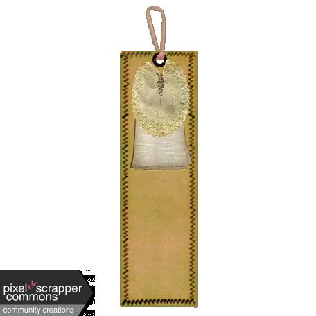 Vintage Sewn Bookmark