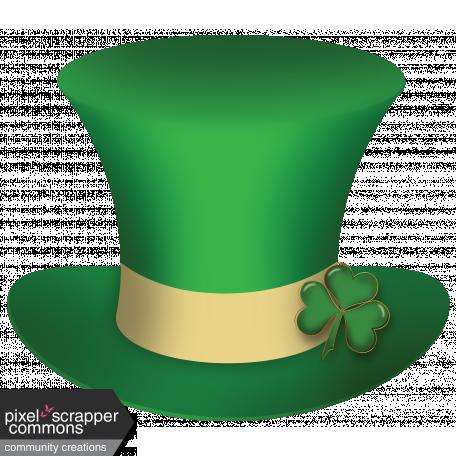 Leprechaun Hat graphic by Gina Jones | Pixel Scrapper ...