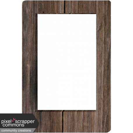 3D Wood Frame graphic by Gina Jones | Pixel Scrapper Digital ...