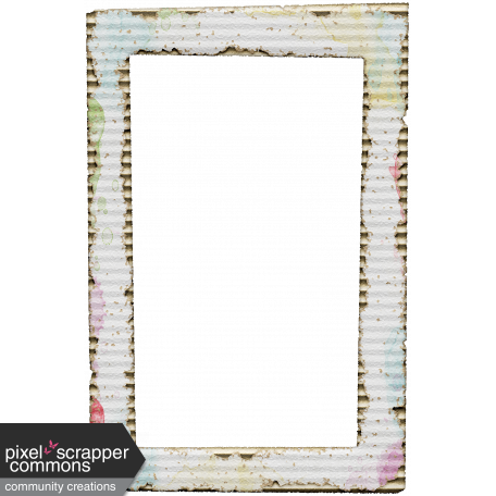 Cardboard Frame Graphic By Gina Jones Pixel Scrapper