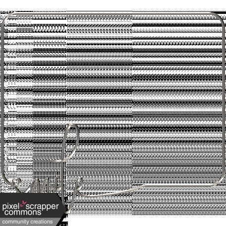 Word Word Frame (smile)