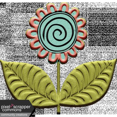 Mod Doodle Flower (01)