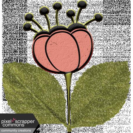 Mod Doodle Flower (05)