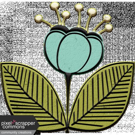 Mod Doodle Flower (06)