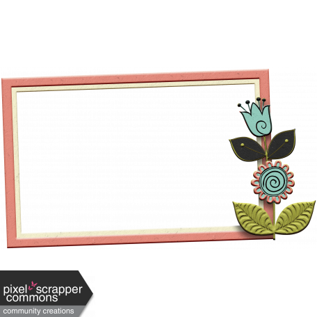 Mod Flower Frame (2)
