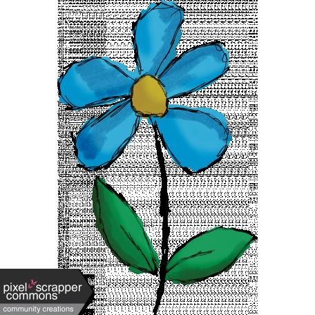 Don T Eat The Daisies Flower 08 Graphic By Gina Jones Pixel Scrapper Digital Scrapbooking