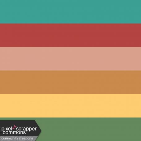Car Party Color Block Paper