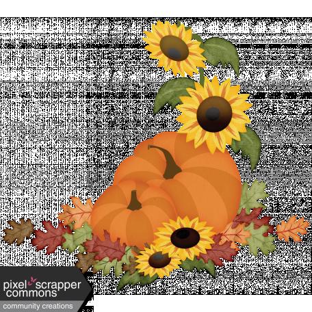 Sunflowers and Pumpkins