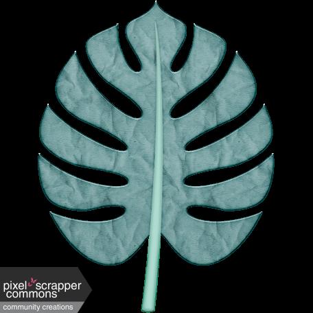 Winter Tropics Palm Leaf 1