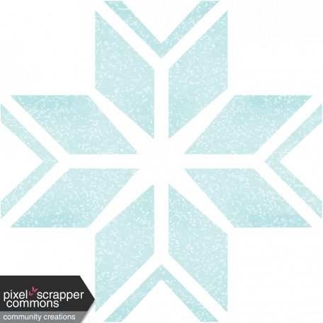 Snow Day Glitter Snowflake 1