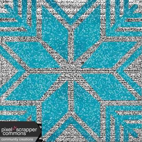 Snow Day Glitter Snowflake 2