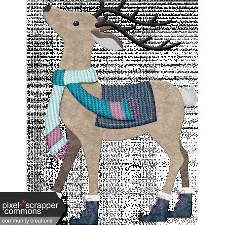 Snow Day Reindeer