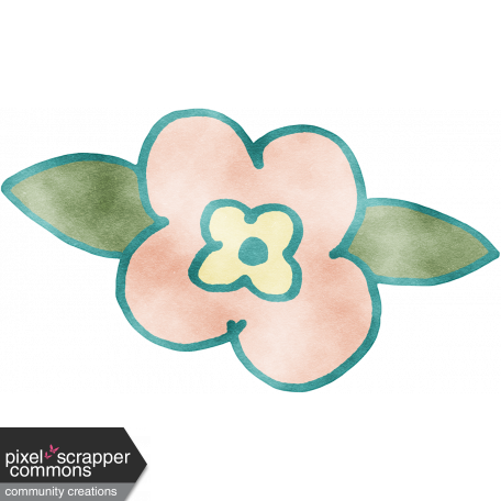 England - Watercolor Flower 05