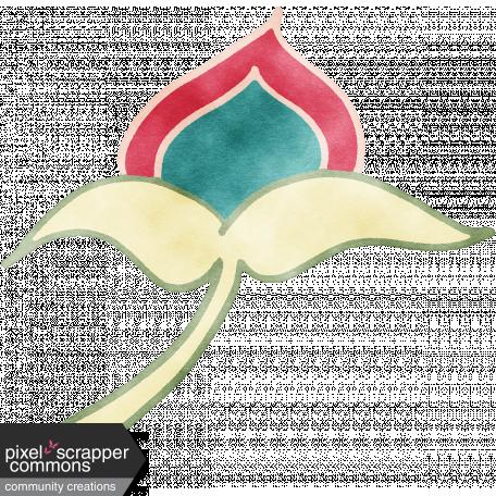 England - Watercolor Flower 06