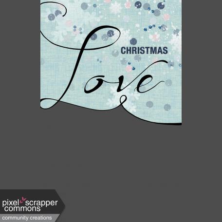 Christmas Love Photo Mask