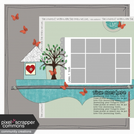 Live- Layout Template