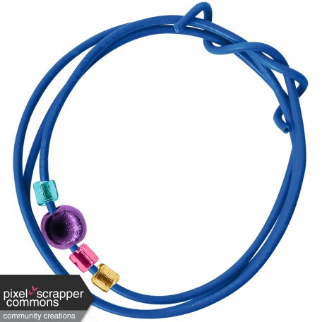 Beaded Wire Circle