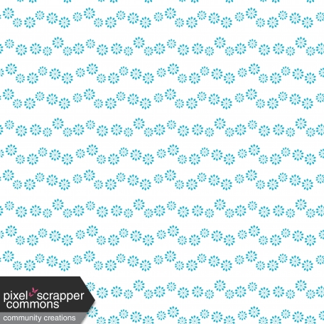 Blue And White Snowflake Flower paper
