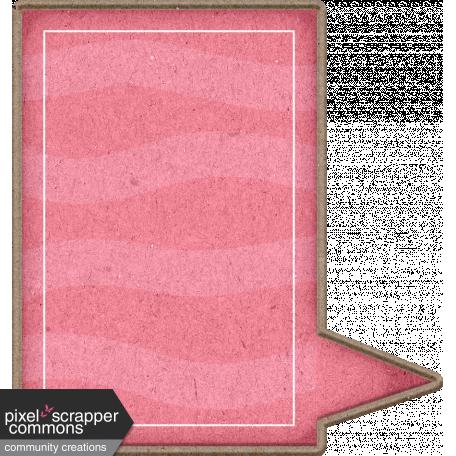 Chipboard Speech bubbles - Pink