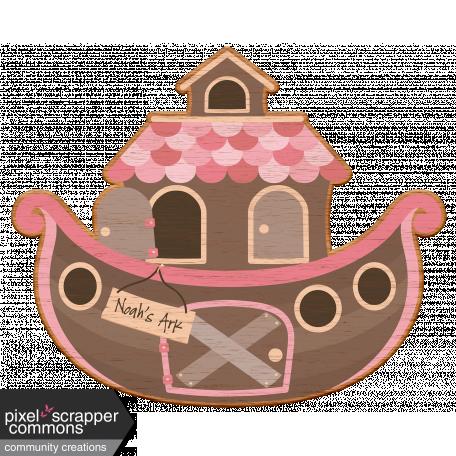 Noah's Ark Wooden Ark