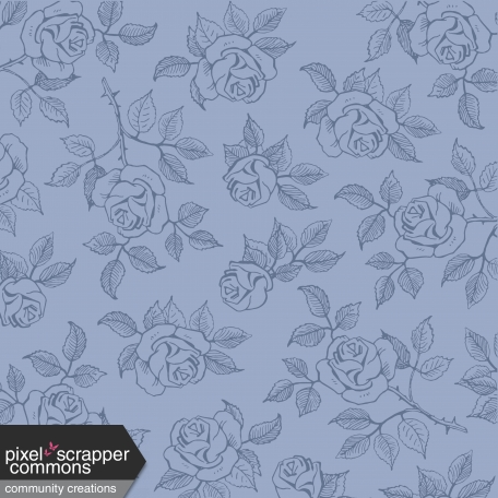 Muted Whispers Dove Roses Paper