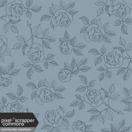 Muted Whispers Eucalyptus Roses Paper