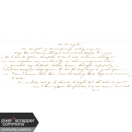 Dark Tan Script Writing
