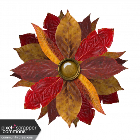 Flower - Autunm/fall leaves 1/3