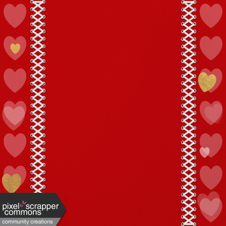 Paper – Love in red