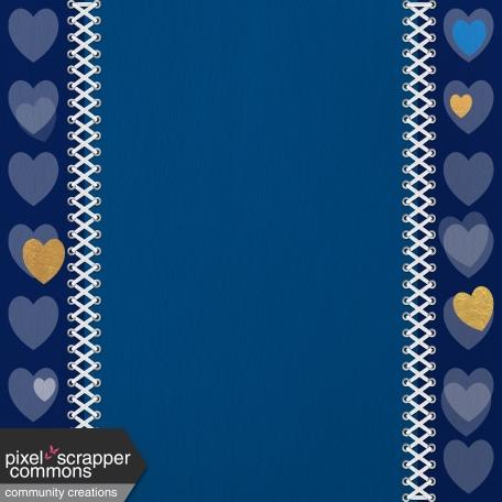 Paper – Love in blue