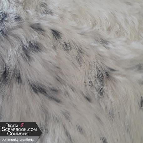 Calf Skin Blue Speckled