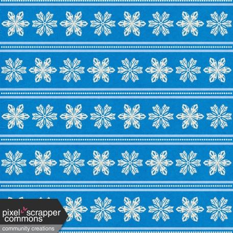 Elfie Xmas - Snow: Patterned Paper, Snowflakes 13