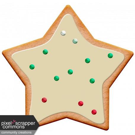 Xmas 2016: Cookie 01 Star