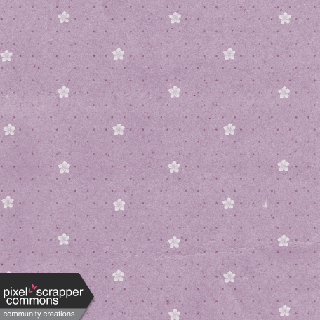May 2021 Blog Train: Spring Flowers Patterned Paper Flowers 03, Light Purple