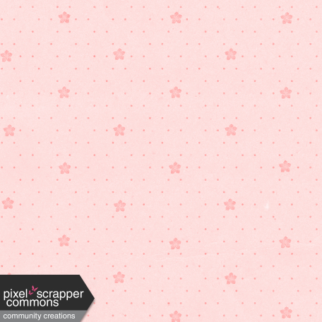 May 2021 Blog Train: Spring Flowers Patterned Paper Flowers 03, Light Pink