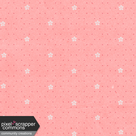 May 2021 Blog Train: Spring Flowers Patterned Paper Flowers 03, Pink