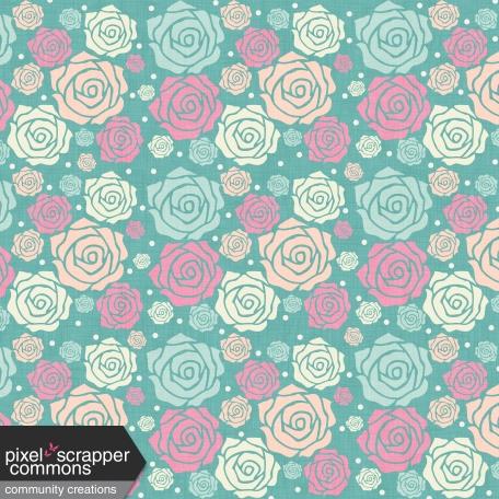Shabby Wedding Flowers Paper Graphic By Amanda Lopez Pixel Scrapper Digital Scrapbooking