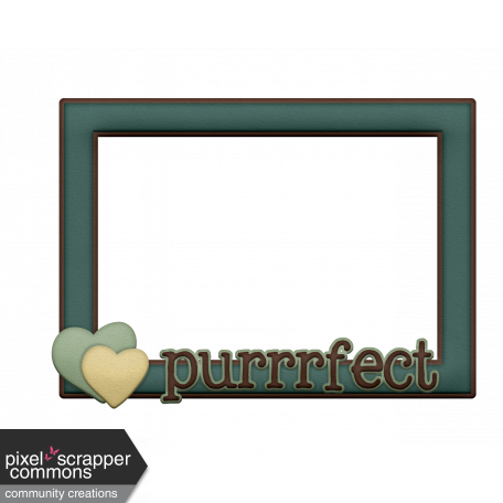 Shelter Per Purrrrfectf! Frame Turquoise