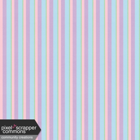 Easter Pastel Stripe Paper Graphic By Melissa Riddle