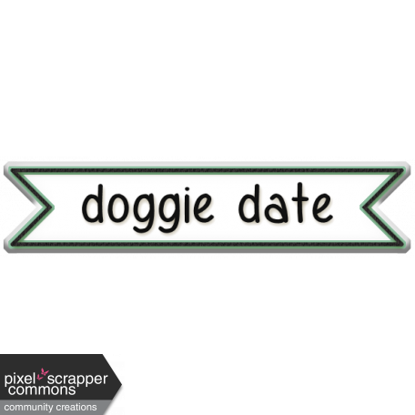 You Can't Buy Love But You Can Rescue It - Doggie Date Label