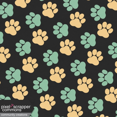 You Can't Buy Love But You Can Rescue It - Paw Print Paper 4