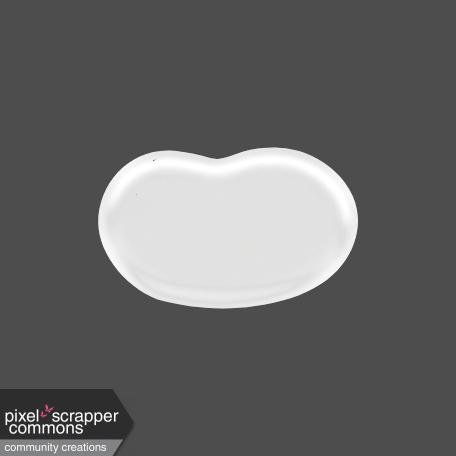 Easter - White Jellybean Element