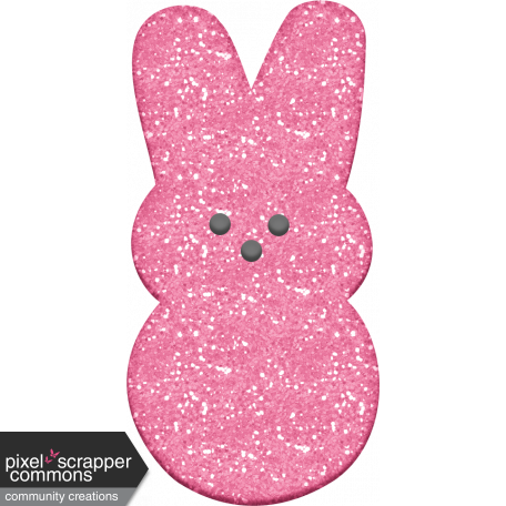 Easter - Marshmallow Bunny Pink